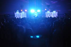 Dance Floor Lighting And Video Projection
